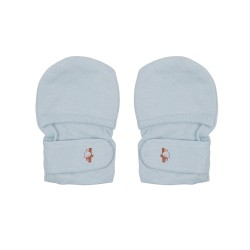Bebe Bamboo Adjustable Bamboo Mitten - Blue