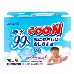 GOO.N Baby Wipes Spare Pack 3x70s