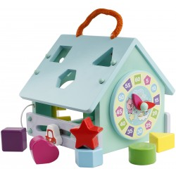 Pororo Wooden Toys House Clock