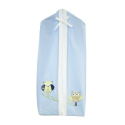 Bubba Blue Baby Owl Boy Nappies Stacker
