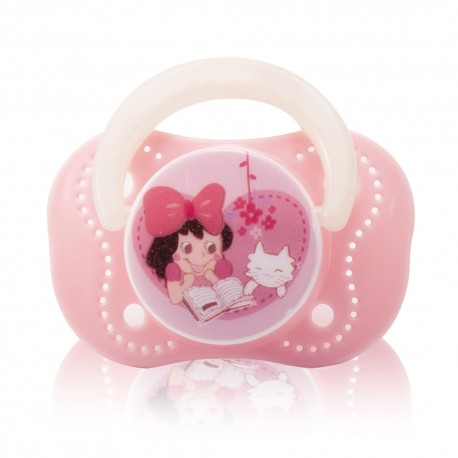 Farlin Chu Chu Cherry Pacifier (Pink-0m+)