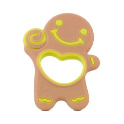 Farlin Dcotor J. Teether-Gingerbread Man Sweet Little Candy Heart (Gingerbread Man)
