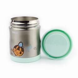 Farlin Stainless Steel Food Jar (Blue)