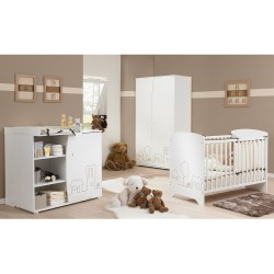 Galipette LITTLE TOWN Baby Cot