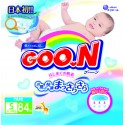 GOO.N JV Diapers S84 4-Pack + FREE Water Pocket Lotion Tissue