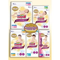 GOO. N Marshmallow Premium Soft Diapers
