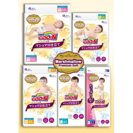 GOO.N Marshmallow Premium Soft Diapers