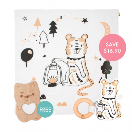 Dash Story-print Wrap Set (Buy 2 Free 1)