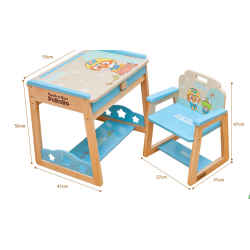 Pororo Wooden Toys  Study Table