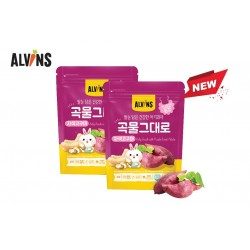 ALVINS Korean Rice Snack (Sweet Potato) x 3 Pkt