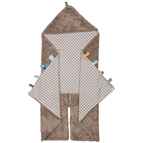 Snoozebaby Trendy Wrapping Wrap Blanket - Desert Taupe
