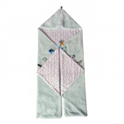 Snoozebaby Trendy Wrapping Wrap Blanket-Fresh Mint
