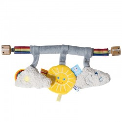 Snoozebaby Pram Toy - Sunshine
