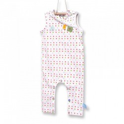 Snoozebaby Sleeveless Suit in Triangles