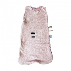 Snoozebaby Sleepsuit 3-9 months - Pink Dot