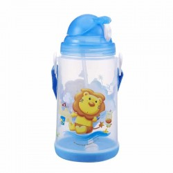 Simba Pop-up Water Bottle 650ml (Blue)