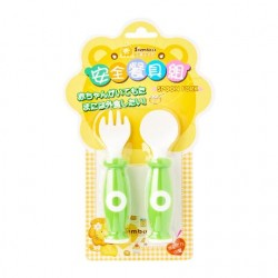 Simba Baby Spoon Fork Set - Green