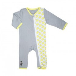 Bebe Bamboo zZippy Sleepsuit Lemon