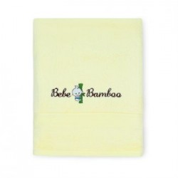 Bebe Bamboo 100% Bamboo Kids Bath Towel - Buttery Yellow