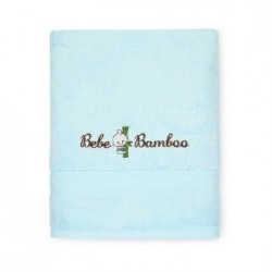 Bebe Bamboo 100% Bamboo Kids Bath Towel - Blue