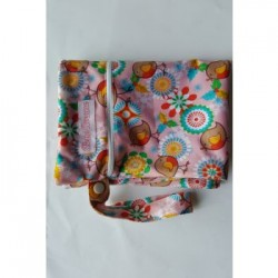 Bebe Avenue Double Zippered Wet Bag- Little Birdy