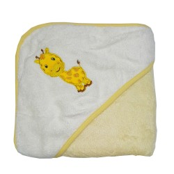 Bebe Bamboo Hooded Towel Giraffe