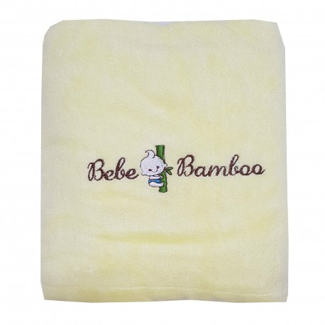 Bebe Bamboo - 100% Bamboo Adult Bath Towel Yellow