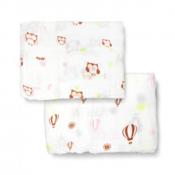 Bebe Bamboo Bamboo Muslin Swaddle - Love Hoo you are