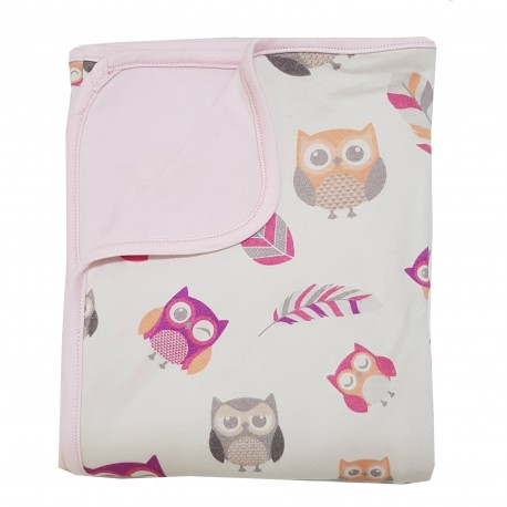 Bebe Bamboo  Double Layer Blanket - Owl