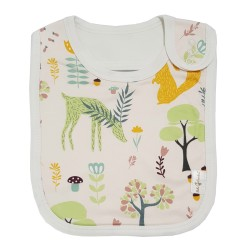 Bebe Bamboo Adjustable Bamboo Bib (Woodlands)
