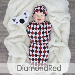 Cuddle Me Hybrid Swaddle Pod-Diamond RED