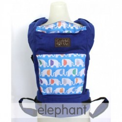 Cuddle Me Ergonomic NeoCarrier 2.0 - ELEPHANT (FREE Bamboo Teething Pads)